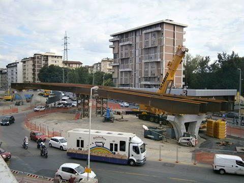 Tramvia Il Viadotto Ha Preso Forma Attualit Firenze