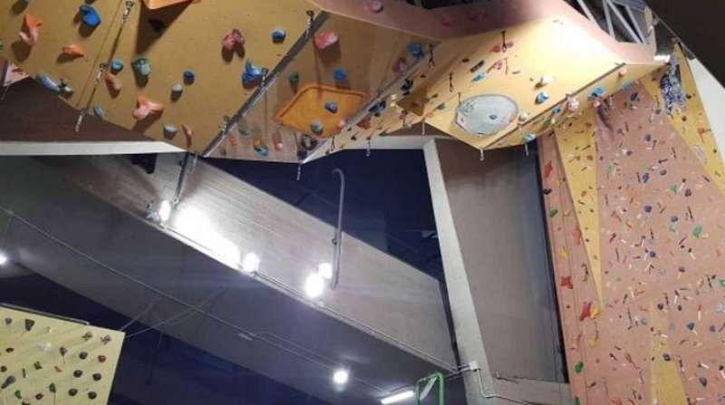 Plafoniere Per Palestra : Nuova luce per l arrampicata al mandela attualità firenze