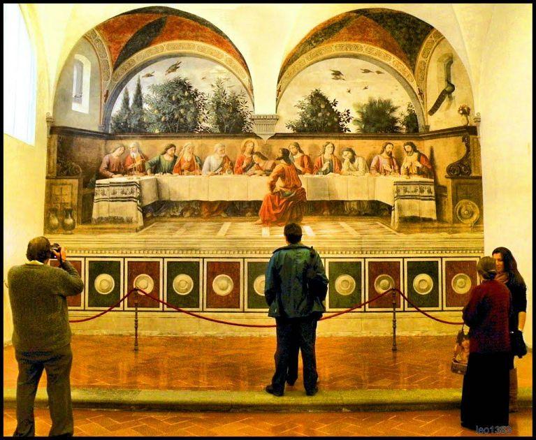 Nissan Santa Maria >> Riapre il Cenacolo di Ognissanti | Arte Firenze