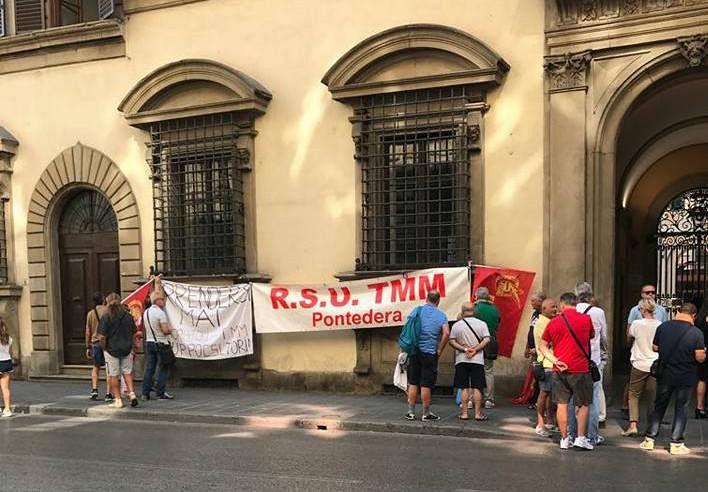 Ufficio Lavoro Pontedera : Tmm colaninno in regione da rossi lavoro pontedera