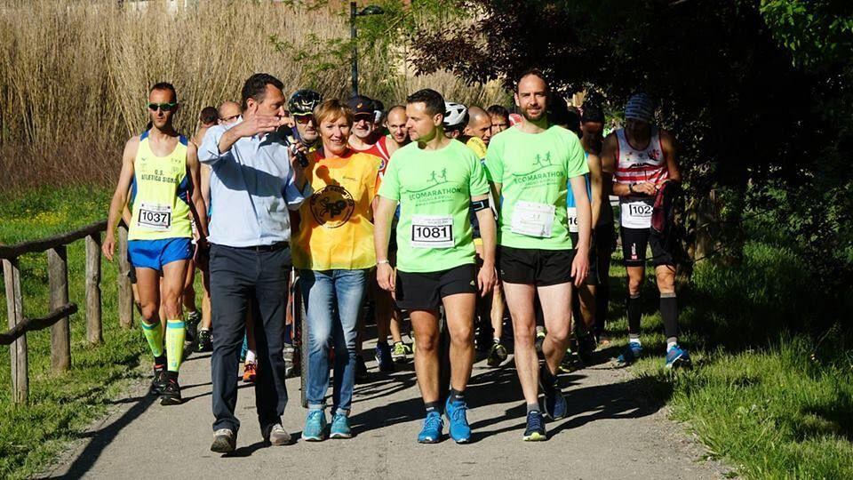 Cinquecento Di Corsa Per L 39 Ecomarathon Attualit Bagno A
