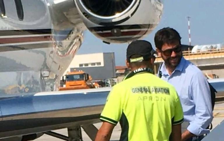 Jet Privato Agnelli : Juventus l operazione ronaldo passa da pisa sport