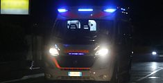 Incidente in moto, grave una donna