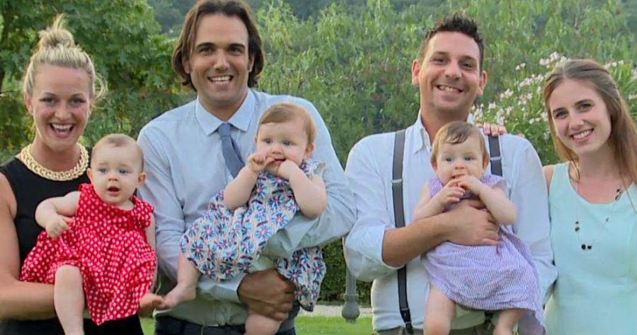 Battezzate tre gemelle di coppia gay: succede in provincia di Roma