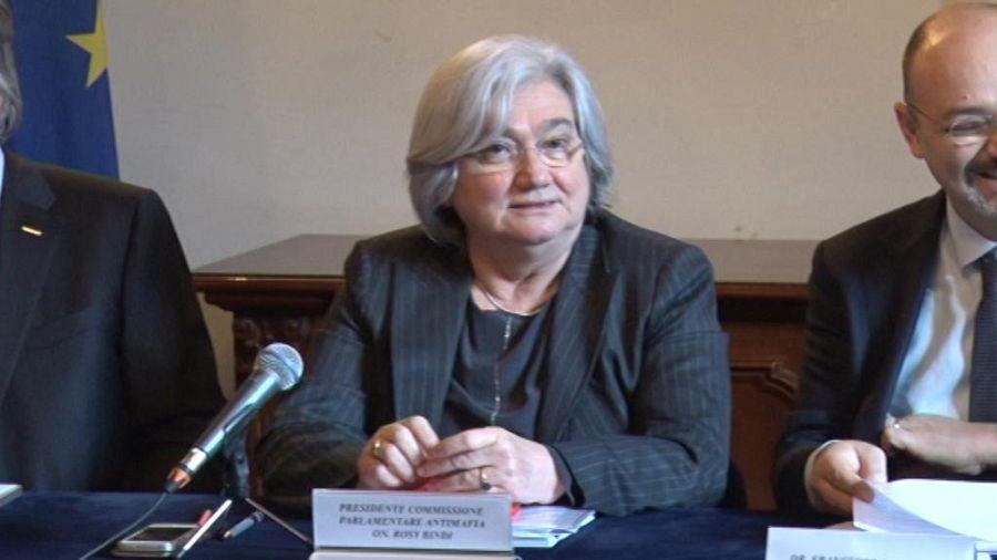 Bindi: la Toscana è a rischio di infiltrazione mafiosa