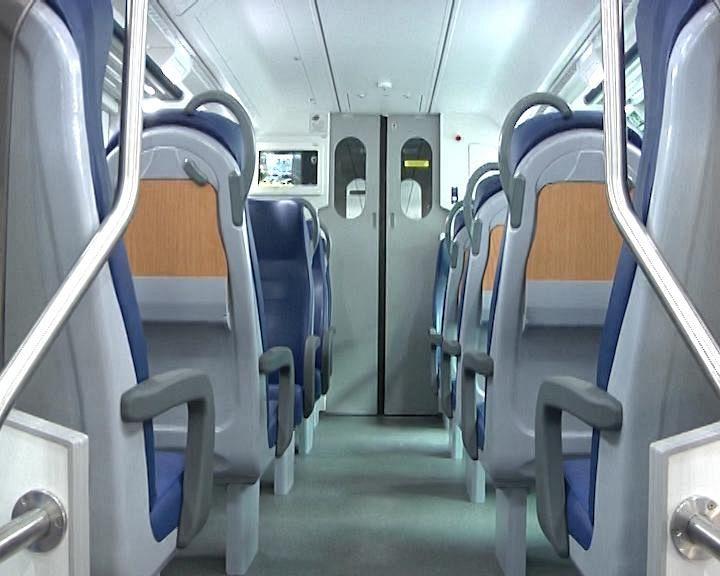 Toscana, arriva un treno Vivalto con telecamere e monitor