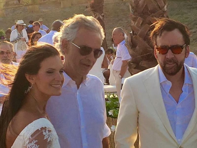 Celebrity Fight Night, vip ospiti a Lajatico a casa Bocelli