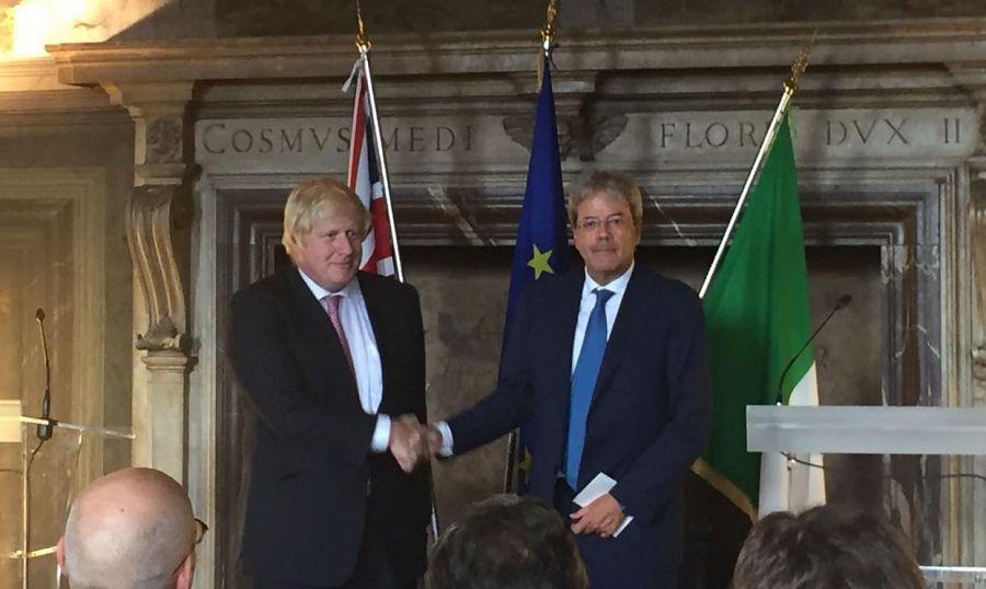 Nardella incontra Boris Johnson: possibile collaborazione con Londra