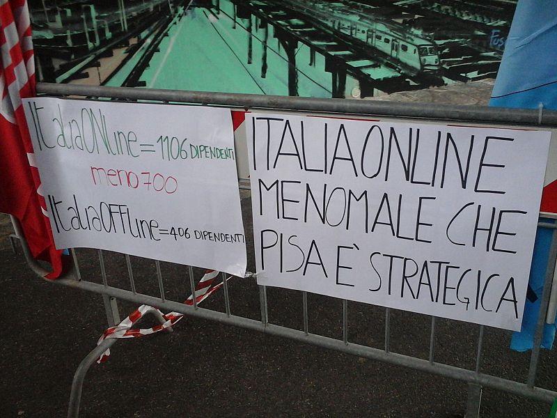 Italiaonline: 700 tagli, dipendenti in sciopero giovedi' 20 ottobre