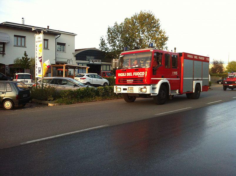 S 39 incendia la cucina ma il pompiere in casa cronaca - Estintore in casa ...