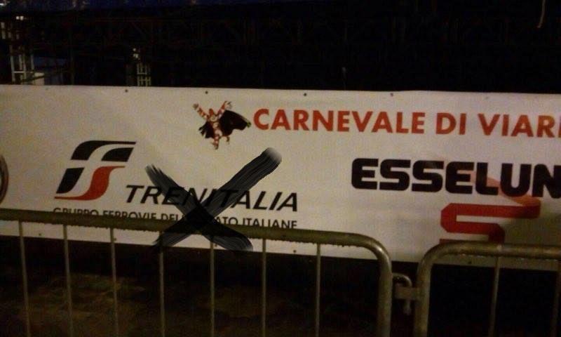 Trenitalia sponsor del Carnevale di Viareggio, indignati i familiari delle vittime