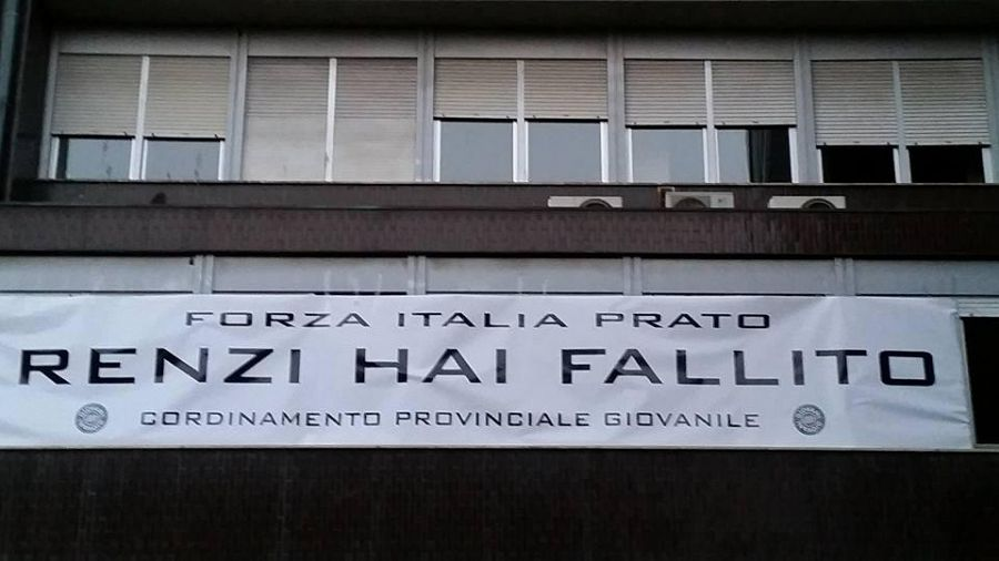 Prato, Renzi visita il Centro Pecci