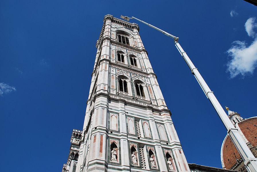 Terremoto, Campanile di Giotto a Firenze sottoposto a check-up completo