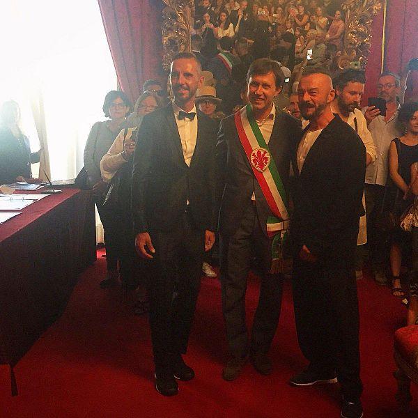 Firenze, le prime unioni civili nella Sala Rossa