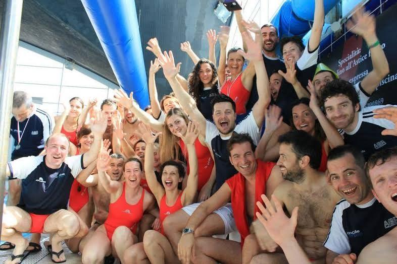 master nuoto olimpia colle ancora campioni sport colle