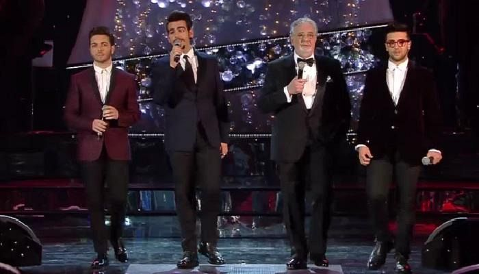 Musica: Il Volo in S.Croce con tv e dvd