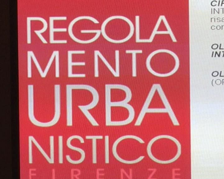 Regolamento urbanistico a volumi zero   Attualità firenze