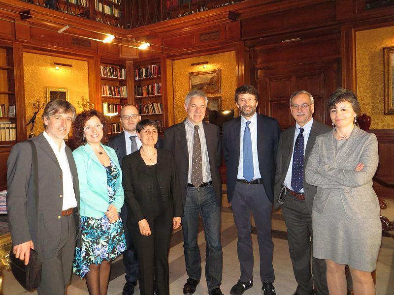Franceschini riceve la delegazione del pd di pisa e for Lista onorevoli pd