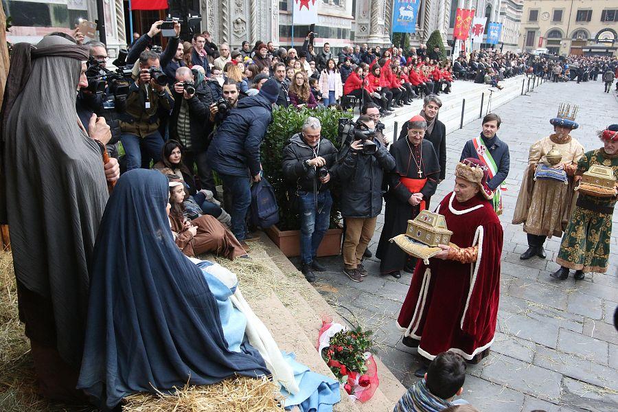 Brienno, all'Epifania corteo dei Re Magi e presepe vivente