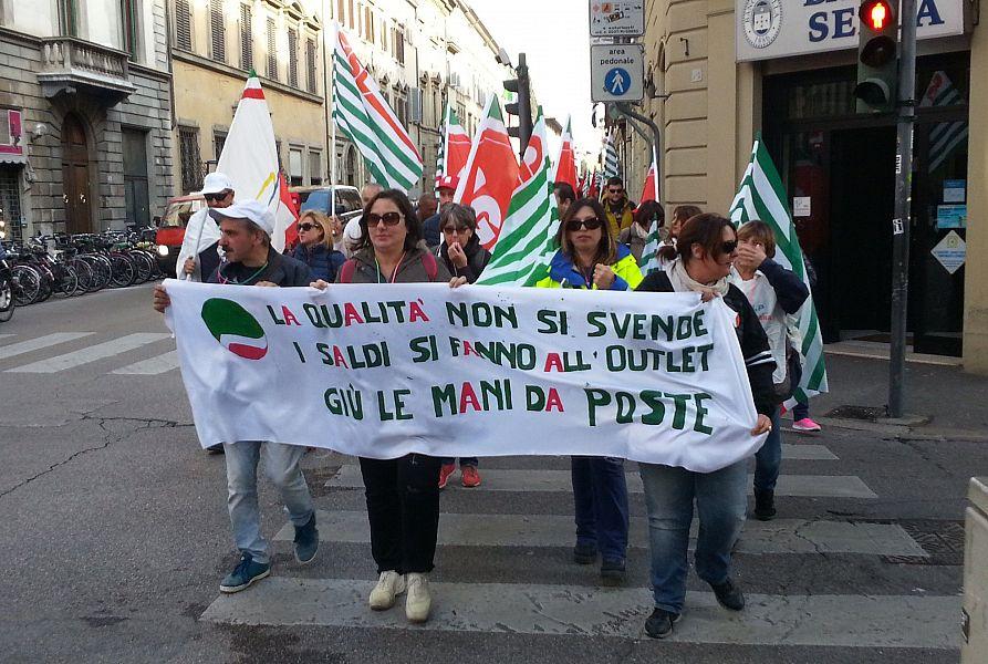 Sciopero Poste, in Toscana adesione oltre il 70%