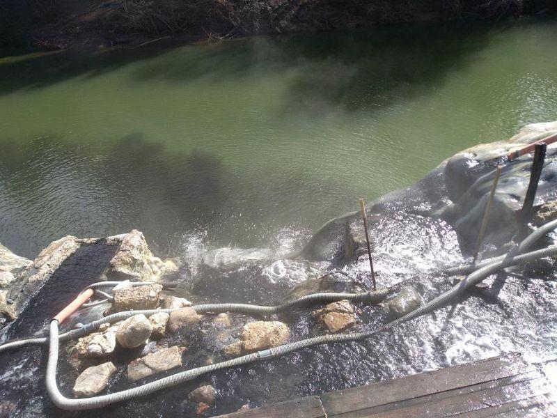 L\'acqua delle Terme di Petriolo non è balneabile\