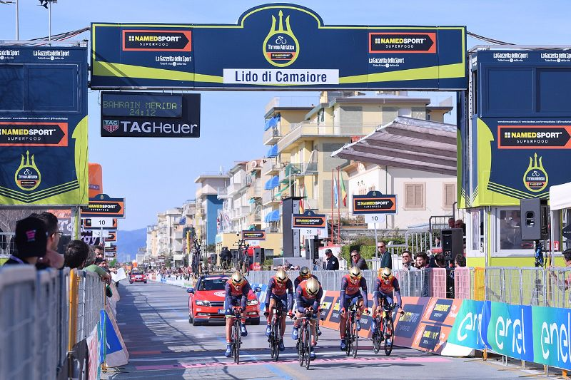 Tirreno-Adriatico 2019, a Jesi l'arrivo della tappa del Verdicchio