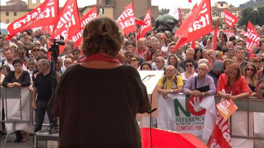 Referendum: a Firenze in piazza il No con Sinistra italiana