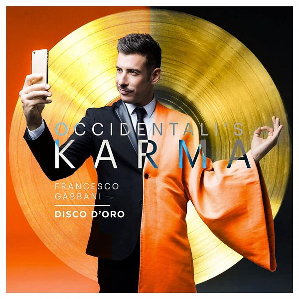 Francesco Gabbani vola in classifica: Occidentali's Karma è disco d'oro
