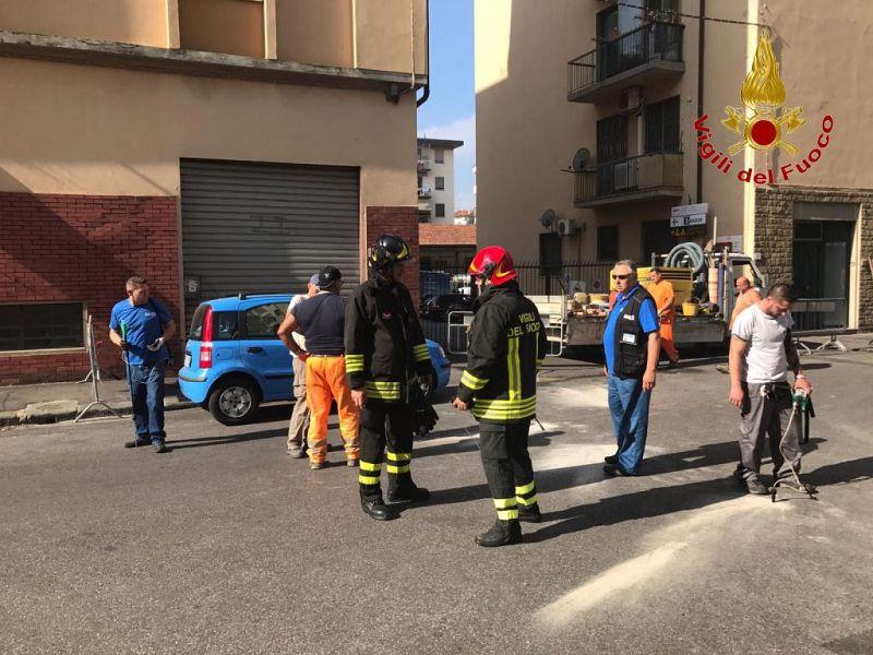Fuga di gas, evacuate quattro palazzine