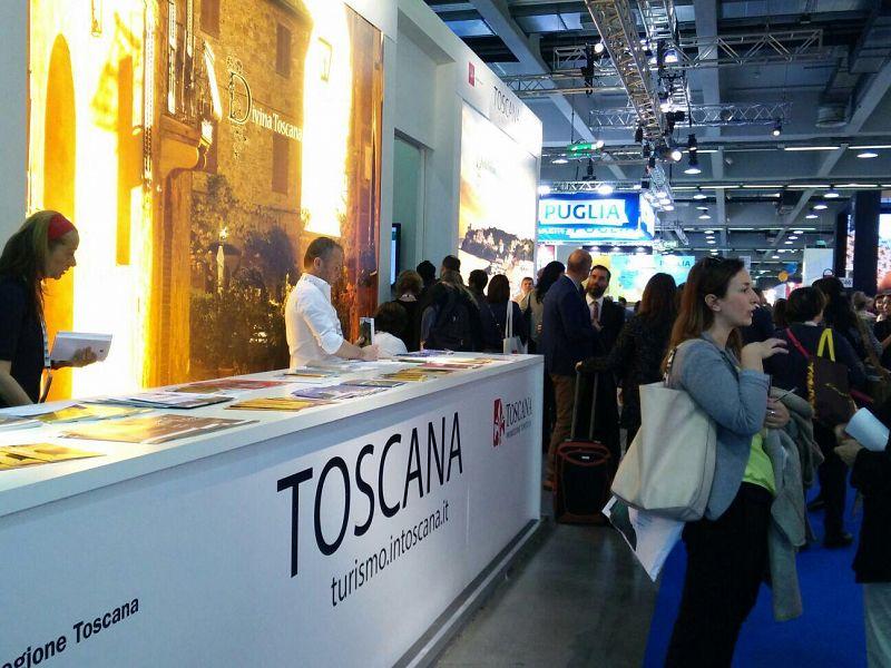 Toscana in mostra alla Borsa del turismo di Milano
