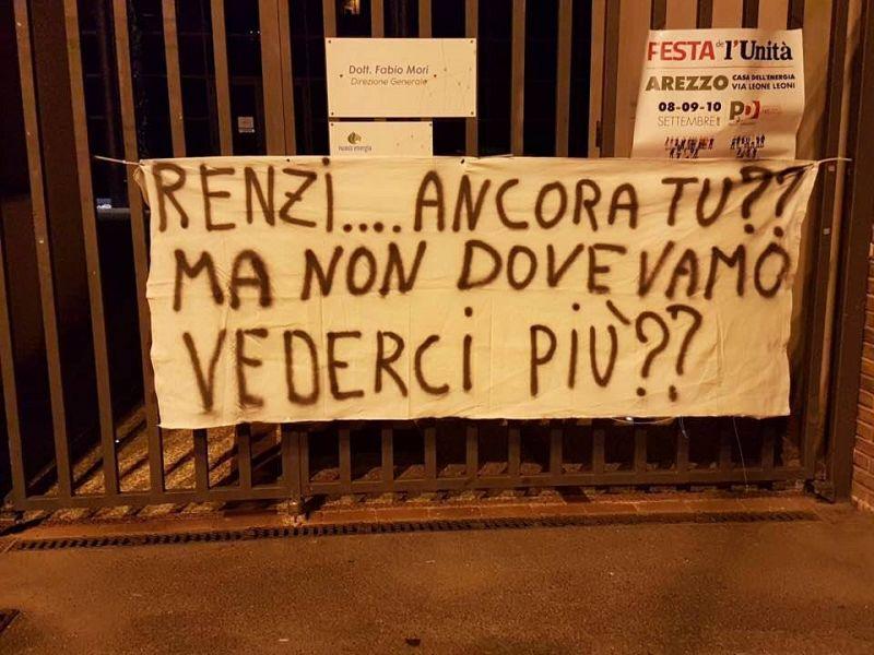 Renzi: io lavoro per il Pd, non devo consumare una rivincita