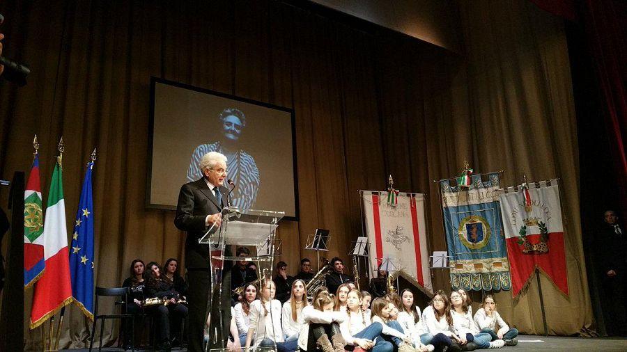 Il presidente Mattarella in visita a Lucca