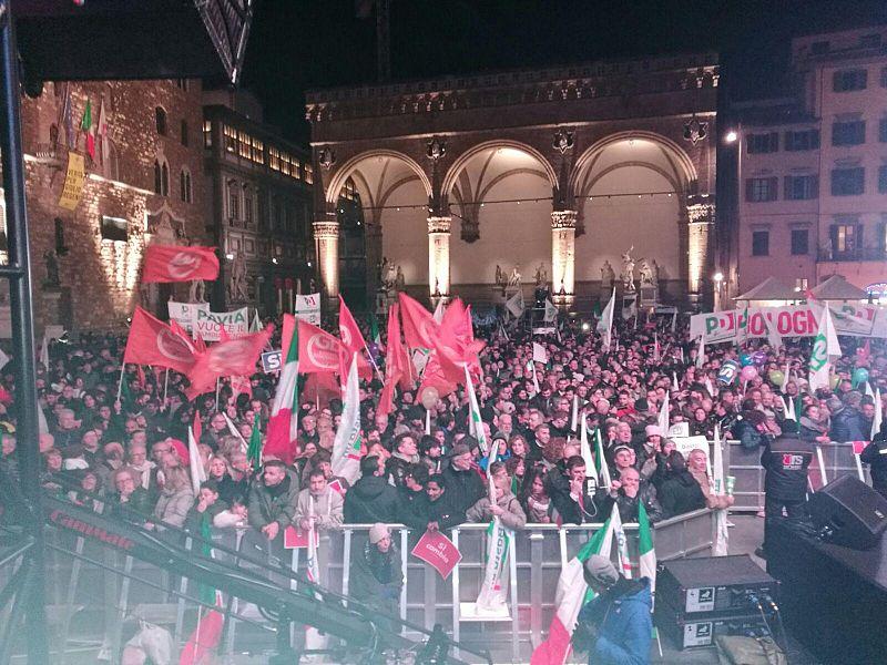 L'Italia verso il referendum, per Renzi si gioca sul filo
