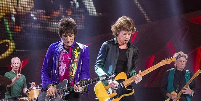 I Rolling Stones cenano a Firenze
