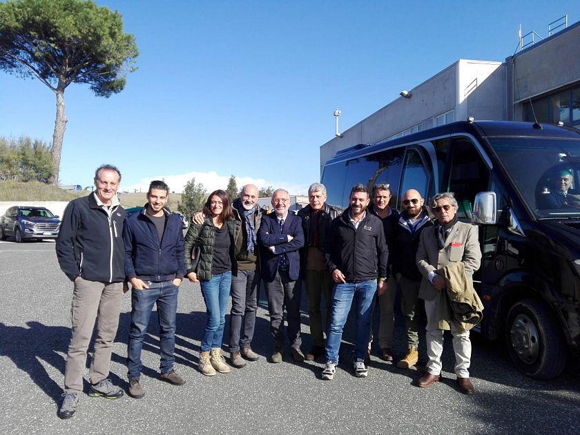 I consiglieri comunali visitano Scapigliato - Qui News Cecina