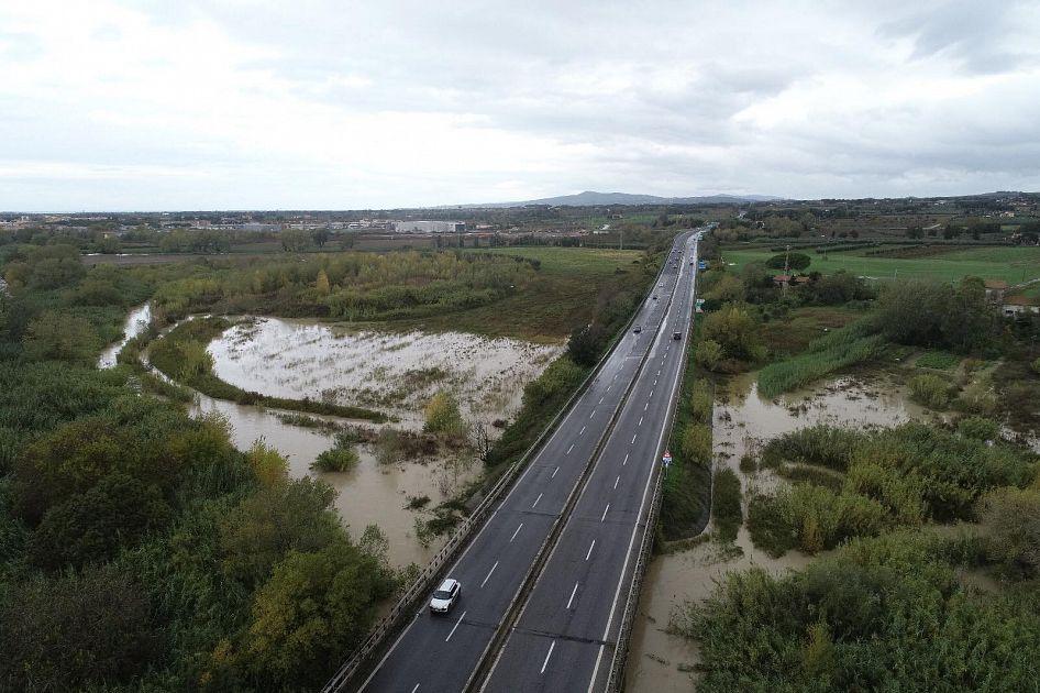 Arno, Ombrone e Cecina, piene ai massimi livelli - Toscana Media News
