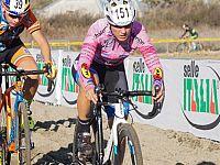 Alessia Bulleri in maglia rosa