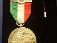 La medaglia d'argento attribuita ad Alessandro Canovaro