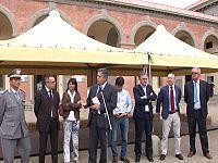 Salvadori, Rossi, Biagiotti e Nardella all'inaugurazione di Expo Rurale 2014