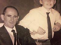 Vasco Rossi con il padre Giovanni Carlo Sisto Rossi