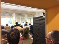 File di elettori a Selvatelle (Terricciola)
