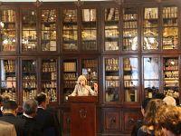La ministra Giannini interviene durante la cerimonia di inaugurazione dell'anno accademico della scuola Normale