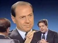 Berlusconi con Gianni Minoli