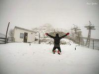 Neve sul Monte Capanne (foto di Alessio Gambini)