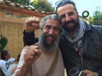 Omar Pedrini con Pirìto all'Ecofestival di Santa Luce (PI)