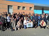 Il gruppo partito da Livorno