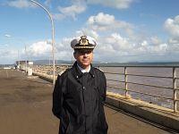 Capitano di Fregata Agostino Perillo, comandante della Capitaneria di Porto di Portoferraio