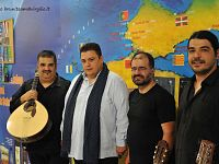 Ricardo Ribeiro e il suo gruppo: si sono esibiti a Pontedera venerdì 17 luglio