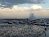Mareggiata a Rio Marina
