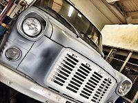 Un furgone Ford Transit